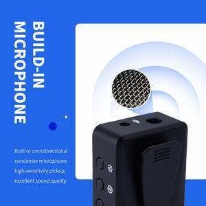 Image 4 - EYK EG02 ميكروفون لاسلكي احترافي UHF Lavalier ، للهواتف الذكية ، وكاميرات DSLR ، وتسجيل مباشر ، و Vlog ، و YouTube ، وبطارية ليثيوم