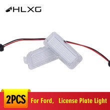 2x Canbus Led Number Plate Lights For Ford Mondeo Mk IV (V) Number License Plate Light Lamp For Ford Galaxy II WA6 2006-2015(China)