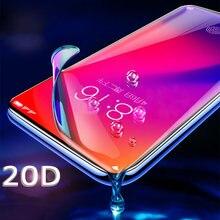 20D hidrojel Film için Huawei P20 P30 P40 Mate 20 Lite 30 Pro ekran koruyucu için Huawei onur 20 Pro 9 10 Lite 10i 8X Film folyo
