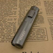 Ветрозащитная зажигалка надувной пистолет многоразовая с матовой