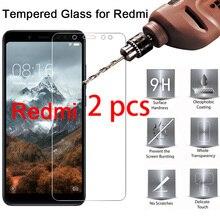 2pcs! 9H HD Screen Protector for Redmi Note 7 Pro Protective Glass on Xiaomi Redmi Note 7S 6 5 Pro 5A Prime 4X 4 3 2