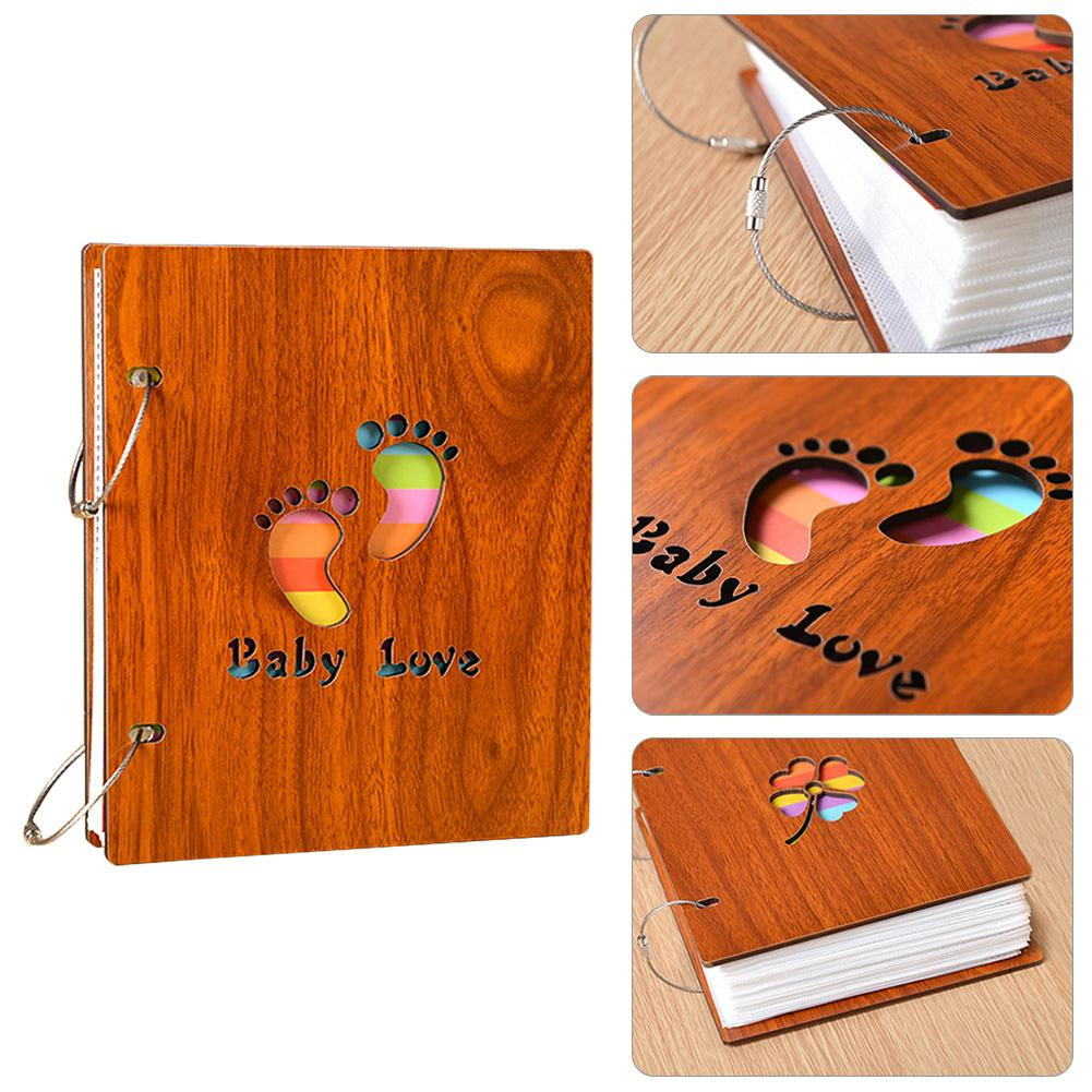 17.7*15.3*3cm Baby Photo Album Creative Handmade Loose-leaf Photo Album Commemorative Scrapbook Albums