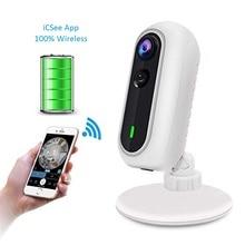 wdskivi Battery HD 1080P Mini IP Camera 100% Wireless WiFi Camera Security Surveillance CCTV Camera Baby Monitor iCSee App