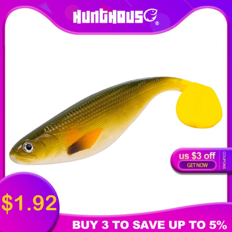 Hunthouse pro shad lure westin Shad Teez pike leurre 17cm 35g fishing Paddle tail Realistic shad <font><b>big</b></font> <font><b>soft</b></font> plastic lures Rubber image