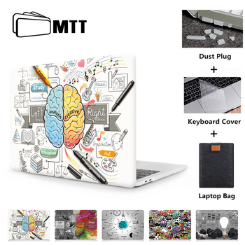 MTT Laptop Case For Macbook Air Pro 11 12 13 15 16 inch With Touch ID Cover Shell For Macbook Air 13 a2179 Laptop Bag Sleeve цена 2017