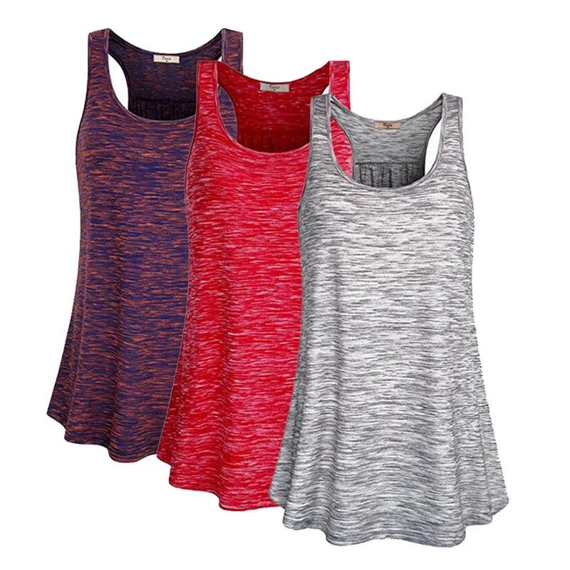 2020 Women Summer I-shaped Back Vest Tanks Top Running Sport Shirt Gym Yoga Top Loose Sleeveless Basketball Mujer Jogging Vest