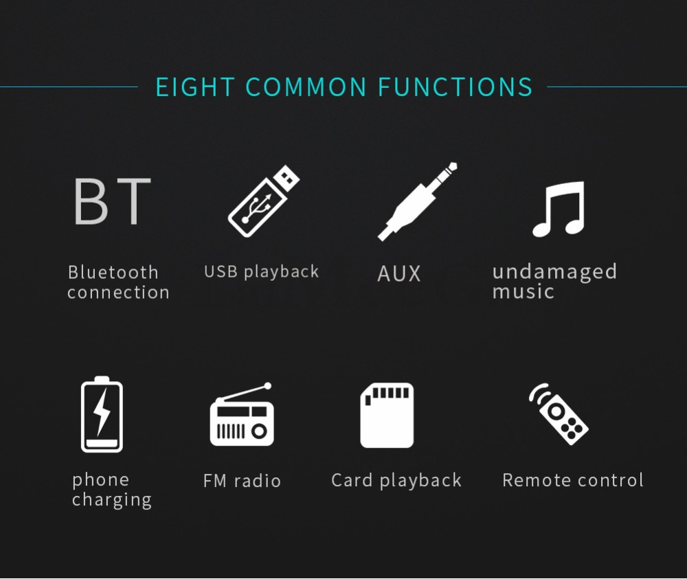 Bluetooth FM AUX Mp3 Bluetooth Car Radio Stereo Receiver 1 Din Auto Cars Audio Modulator Central Multimedia Cassette player (27)