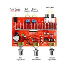 TDA7377 Digital Audio Amplifier Board 2*40W Stereo 2.0 Channel Stereo Power amplificador for Car DIY speaker DC12V