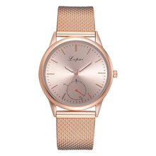 Lvpai Trendy Design Fashion Men Woman Multifunctional Stainless Steel Watch Busi