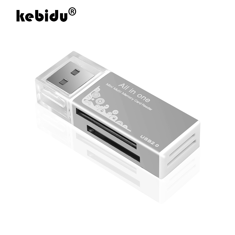 Micro Memory Card Multi All in 1 Reader Adapter USB 2.0 Micro TF Card Reader