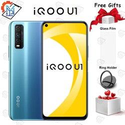 Оригинальный vivo iQOO U1 мобильный телефон 6,53 дюймов 6 ГБ ОЗУ 64 Гб ПЗУ Восьмиядерный Snapdragon 720G Android 10 4500 мАч смартфон 48.0MP