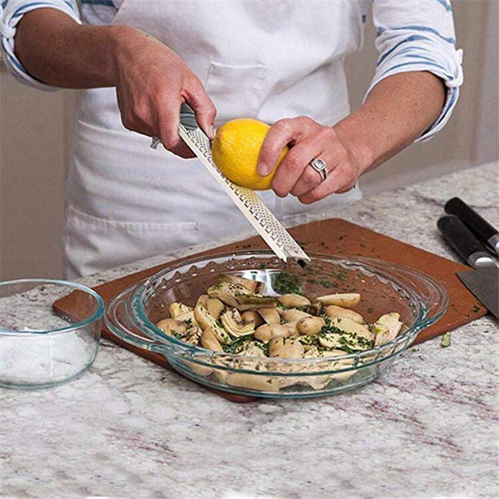 TTLIFE متعددة الوظائف مبشرة ستانلس ستيل الليمون الفاكهة مقشرة الجبن Zester microالطائرة سكين التخطيط أدوات مطبخ الخضار
