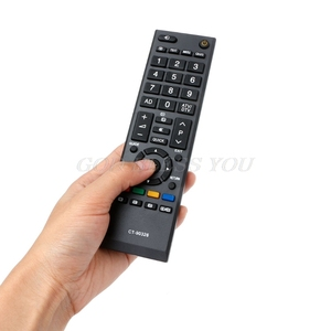 Image 4 - บ้าน LED สมาร์ททีวีรีโมทคอนโทรลสำหรับ TOSHIBA CT 90326 CT 90380 CT 90336 CT 90351 Drop Shipping