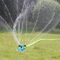 Спринклеры для сада автоматический полив газон 360 градусов вращающийся распылитель воды 3 руки насадки орошения сада инструменты #30