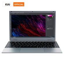 Kuu 14.1 Polegada 8gb ddr4 ram 128g 256g ssd windows 10 computador portátil intel celeron j4115 processador de tamanho completo teclado estudante notebook