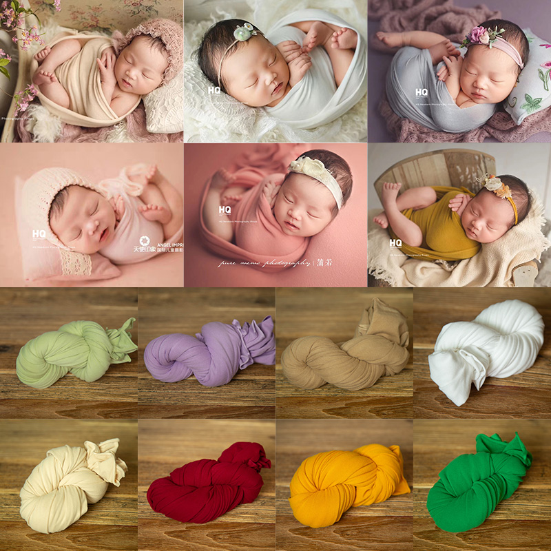 Hot Dealsnewborn photography props baby blankets photography accessories for photo studio blanket backdrop elastic fabric fotografia