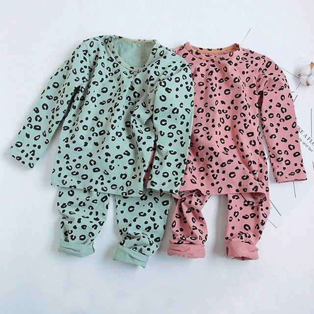Leopard Print Pajama Set 3