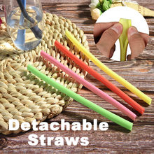 Repeatable Straws Home Bar Party Cocktail Drink Straw Multicolor straw Dropshipping 2019 hot sale supplier Accessories tool Home(China)