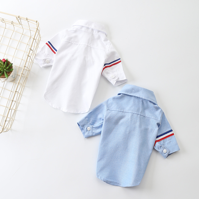 New Casual Pet Clothes Two-foot Shirt Shirt Pet Puppy Clothing Processing Factory Dog Clothes Spring And Summer