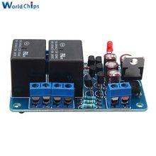 Głośnik płyta ochronna komponent wzmacniacz Audio DIY opóźnienie rozruchu DC Protect DIY zestaw do Arduino wzmacniacz Stereo podwójny kanał