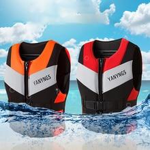 Ski-Vest Boating Kayaking Life-Jacket Swimming Fishing-Water Neoprene Safety Water-Sports