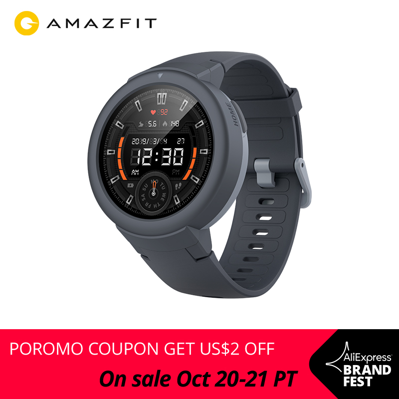Closeout DealsAmazfit Smartwatch GPS Ios-Phone Long-Battery Verge-Lite Global-Version Android Life