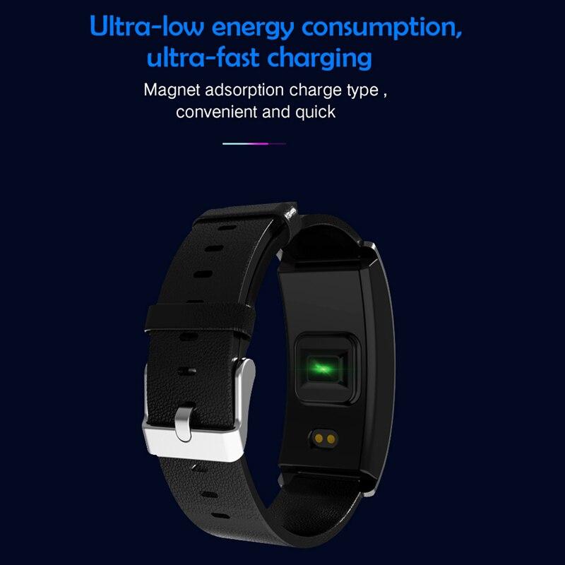Image 4 - CK11S Smart band Blood Pressure Wristband Blood Oxygen Heart Rate Monitor Smart Bracelet Pedometer IP67 Waterproof smartbandsSmart Wristbands   -