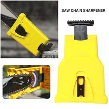 Chainsaw Teeth Sharpener Sharpens Saw Chain Fast Sharpening Stone Grinder Tools Preservative System Abrasive