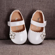 Kids Shoes Toddler Infant Kids Baby Girls Flower Single Shoes Dance Princess Flats Children Toddler Shoes for 1-3 Years old ds