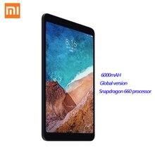 Xiaomi MI Pad 4 8,0 4 Гб + 64 Гб 98 Новый дюймовый планшетный ПК с системой андроида WIFI модем LTE HD Дисплей 6000 мАч MIUI 9,0 Snapdragon 660 ядра Кабельный тестер кабел...