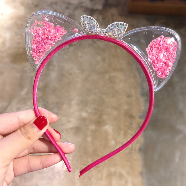 Cute Cat Ears Hairbands Korean Children Princess Kids Gift 5