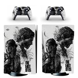 The Last of Us PS5 Standard Disc Edition Skin Sticker Decal Cover for PlayStation 5 Console and 2 Controllers PS5 Skin Sticker