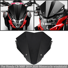 Motorfiets Accessoires Aluminium Voorruit Voorruit Wind Shield Deflector Voor Honda CB500F Cb 500 F CB500 F 2019   2020