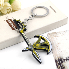 Japan Anime The Seven Deadly Sins Escanor Rhitta Axe Ax Beer Bottle Opener Tool Enamel Metal Pendant keychains/keyrings Gift недорого