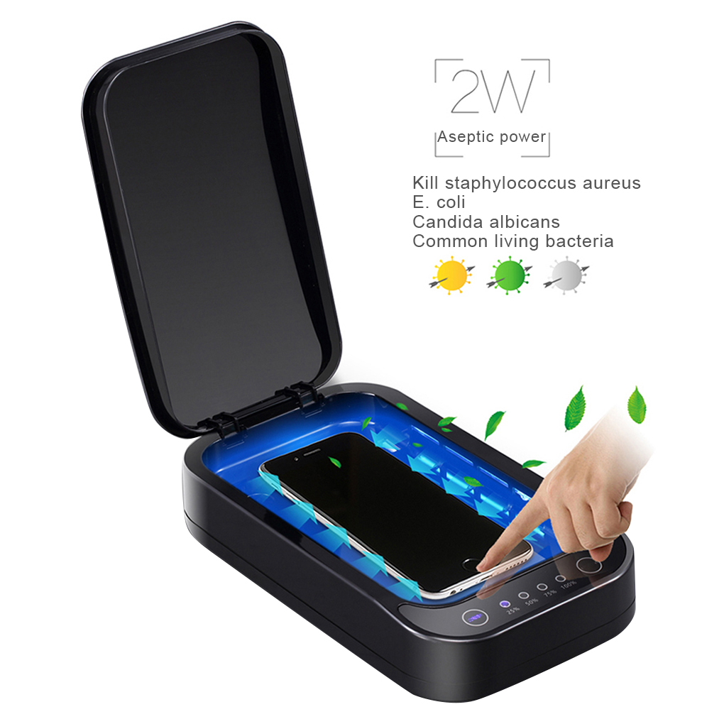 One Touch UV Box Aromatherapy Function Multifunctional Portable UV Box Cleaning Device Home Sterilization UV Disinfection Box