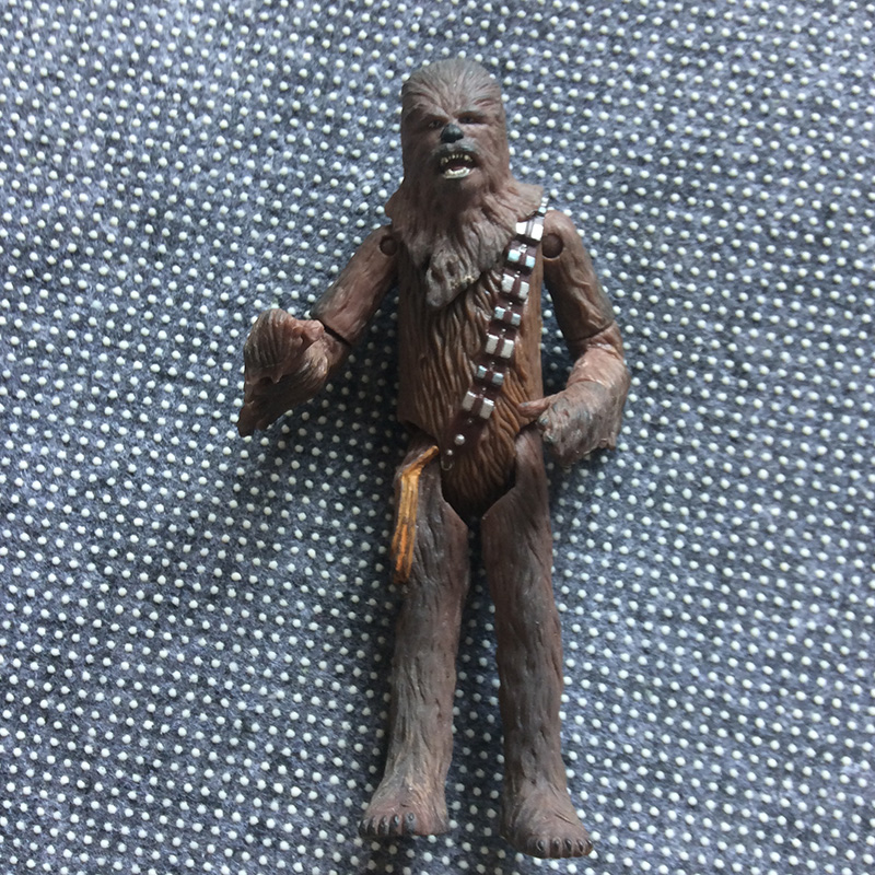 12cm Joint Movable Star Wars Chewbaccas PVC Figure Toy
