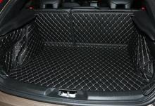 Wysokiej jakości specjalne maty bagażnik samochodowy dla Volvo V40 -2013 wodoodporne dywaniki samochodowe maty ładunkowe dla V40 car styling tanie tanio Sztuczna skóra CN (pochodzenie) Z włókien naturalnych Mats Carpets 2014 2015