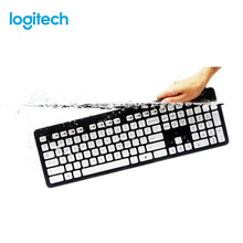цена на Logitech K310 Washable Waterproof Wired USB PC Laptop Computer Keyboard Wired Keyboard USB Home Office Commercial Keyboard