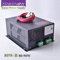 Startnow 80W-B CO2 レーザー電源 90 ワットネットワークポート 70 ワット 80 ワットワットMYJG-80 110v 220 220vのレーザー彫刻切断機部品