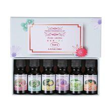 6Pcs Relive Stress Aromatherapy Oils 10ml Fragrance Essentia