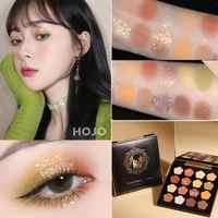 16 Colors New Cute Glitter Eyeshadow Pallete Shimmer Waterproof Diamond Shadows Palette Eye Make Up Eye Shadow TSLM1