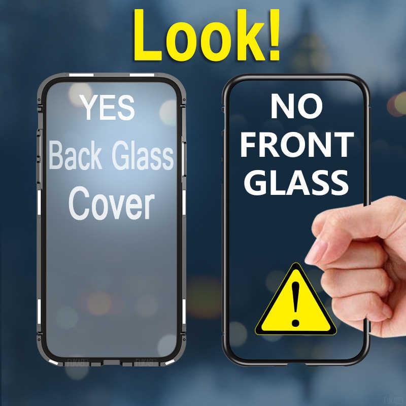 Adsorbimento Magnetico Della Cassa Antiurto per Samsung Galaxy A50 A70 A40 A20 A10 A30 A7 2018 S8 S9 S10e Nota 10 9 8 Più Della Copertura Posteriore