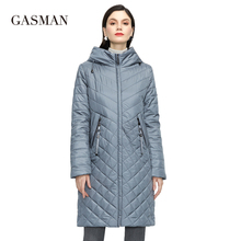GASMAN New Women coat Trench women's spring jackets 2021 fashion casual long big size parka Female Outerwear ladies jacket 81865