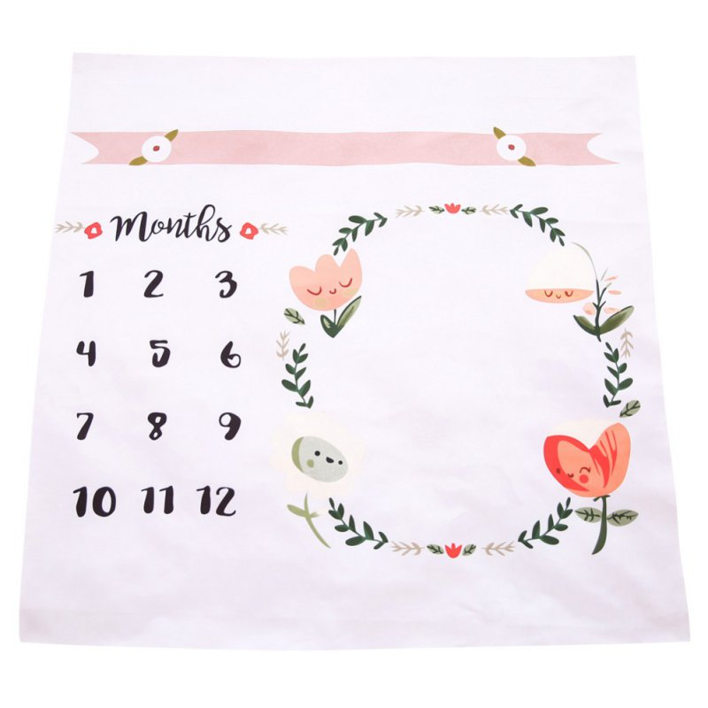 Newborn Baby Blankets Swaddle Wrap Fashion Bathing Towels Flower Printed Cute Soft Blanket DIY Infant Kids Photography Props
