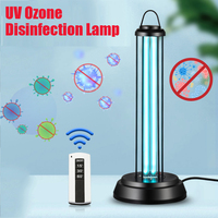 HOT 38W 60W UVC Ozone Germicidal Ultraviolet Disinfection Lamp UV Light Timer for Disinfect Bacterial Kill Mites Deodorizer
