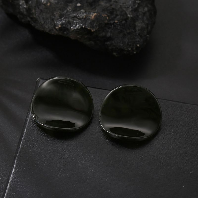 Acrylic Earrings Bohemian Tortoise Shell Mottled Stud Earrings Fashion Jewelry H8WF in Stud Earrings from Jewelry Accessories