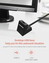 Cable básico de extensión Comfast U312 USB 3,0 de alta velocidad, extensor de repetidor de refuerzo, cable de extensión de 1,2 M para wif usb de alta velocidad