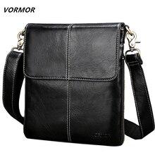 VORMOR sac à main en cuir pour hommes, sac à bandoulière Fashion, petits sacs décontracté de styliste