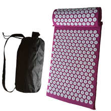 Acupressure Relieve Back Body Pain Spike Mat Massager (appro.68*42cm)Cushion Acupuncture Yoga Massage Mat/Pillow