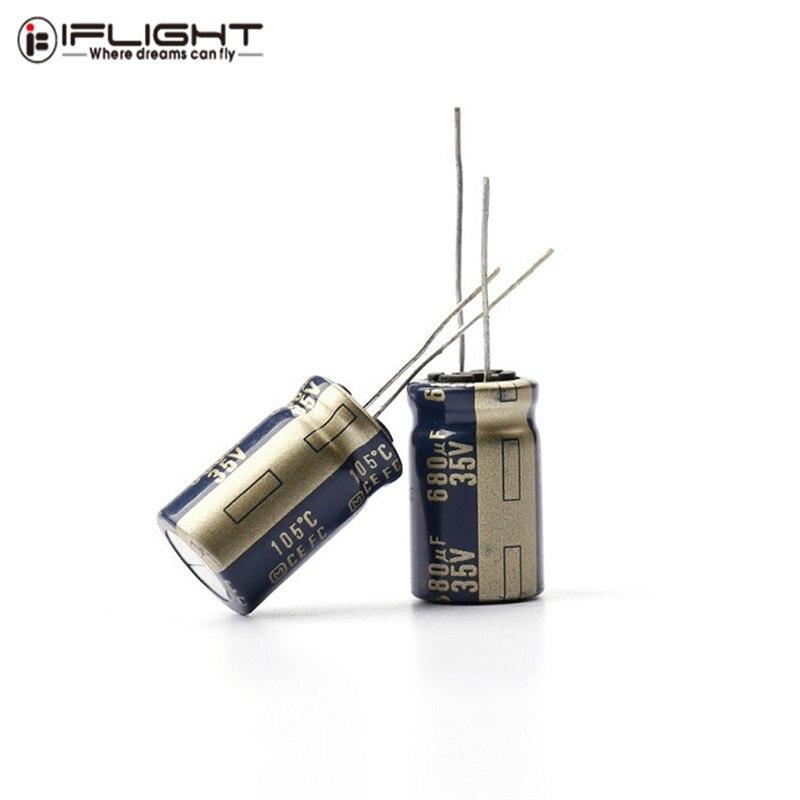 5 PCS iFlight 25V 220uF / 35V 680uF / 50V 470uF 1200uF FM Series Hifi Capacitor for RC Drone FPV Racing Multirotor Parts Accs